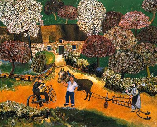 Lucien Pouëdras, peintre des campagnes bretonnes 063_z