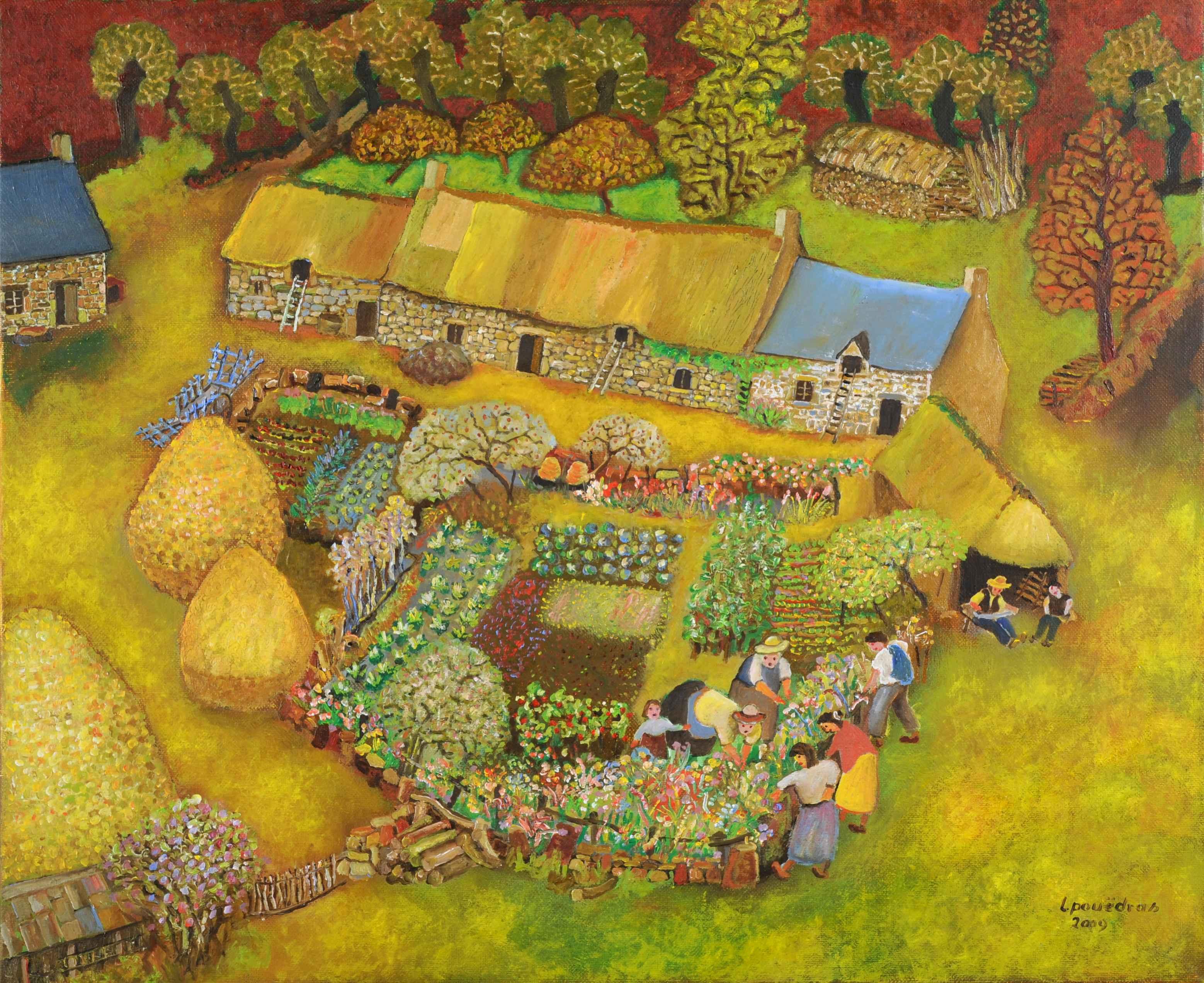 Lucien Pouëdras, peintre des campagnes bretonnes 262