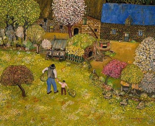Lucien Pouëdras, peintre des campagnes bretonnes 164_z_demarche